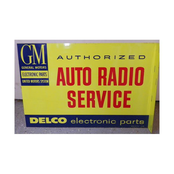 gm-authorized-auto-radio-sevice-sign