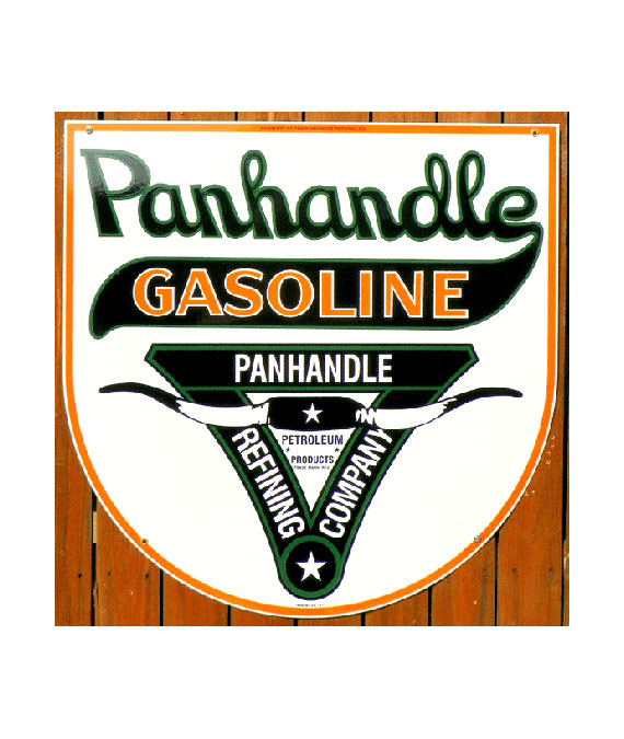 panhandle-gasoline-refining-company-longhorn-sign
