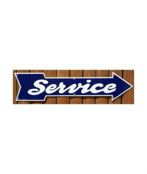 1930s-1940s-STYLE-AUTOMOBILE-DEALERSHIP-SERVICE-ARROW