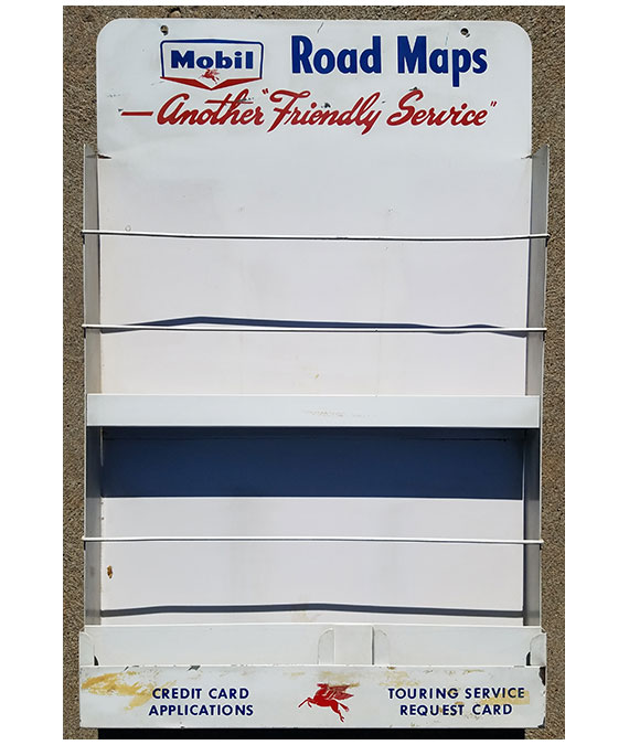 1950s-MOBIL-GAS-STATION-ROAD-MAPS-DISPLAY-RACK