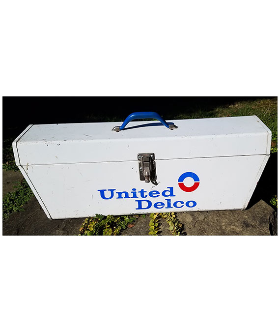 GM-UNITED-DELCO-MECHANICS-TOOL-BOX-MUSCLE-CAR-ERA-COLLECTIBLE-3