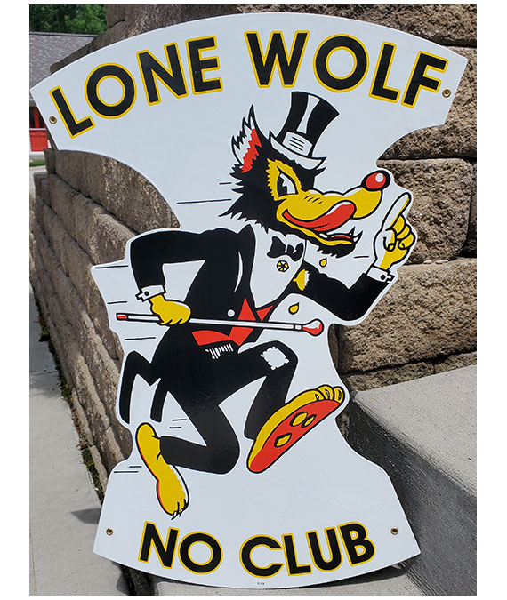 LONE-WOLF-NO-RIDERS-DIE-CUT-SIGN