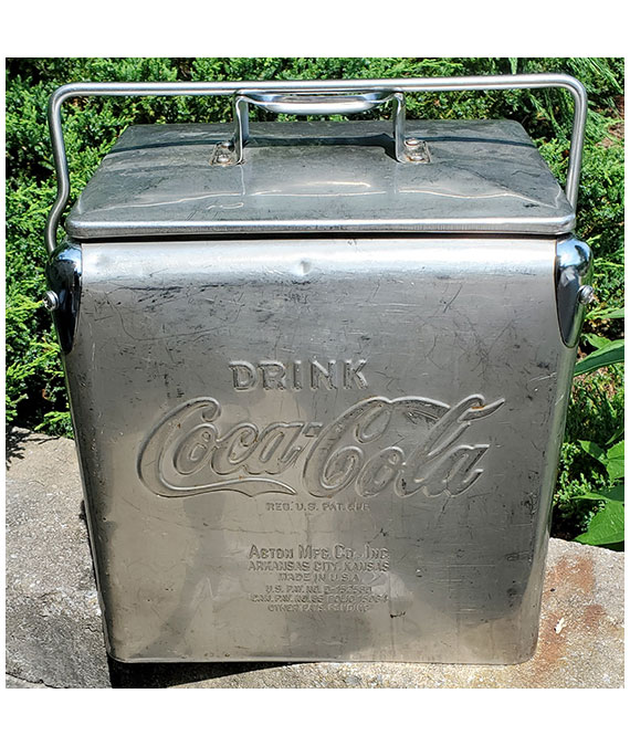 1940s-to-1950s-COCA-COLA-STAINLESS-STEEL-6-PACK-COOLER-3